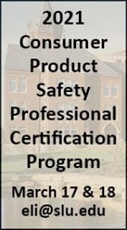 Register for the CERTIFICATE IN PRODUCT SAFETY MANAGEMENT 2021 COURSE